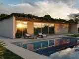 New bioclimatic villa with sea view in Italy
